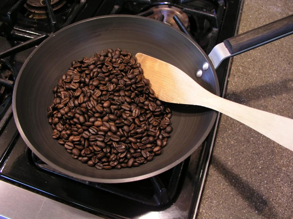 Rang cà phê tại nhà
